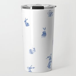 pattern with bunnies Travel Mug