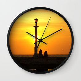 Romancing The Sunset 2 Wall Clock