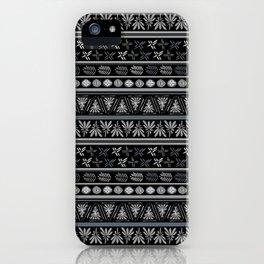 Bohemian Mud cloth iPhone Case