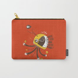 ordered world Carry-All Pouch