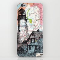 maine iPhone & iPod Skins featuring Maine by Ursula Rodgers