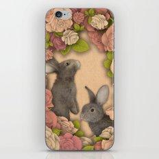 Rosie Rabbits iPhone & iPod Skin