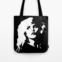 Blondie, Music Legend, Black, White, Cinema, Art, Author, Song Writer, Musician, Punk, Tote Bag