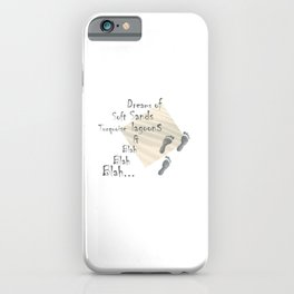 footstep products, printed products, footstep printable, quotes printed, print gifts, printeddreams iPhone Case