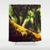 climbing Shower Curtains featuring Climbing up. by BlacknWhite