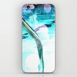 swim pool iPhone Skin