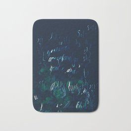 """""""Conquest of the Useless"""" by Werner Herzog Print (v. 9) Bath Mat"""
