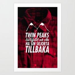 Twin Peaks Ringde Art Print