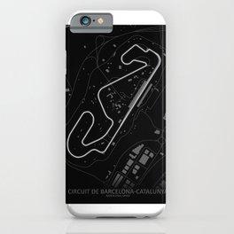 Circuit de Barcelona-Catalunya iPhone Case
