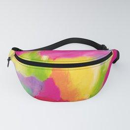Abstract Rainbow Fanny Pack