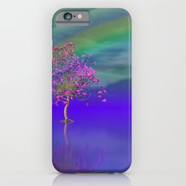 tree under rainbow -2- iPhone Case