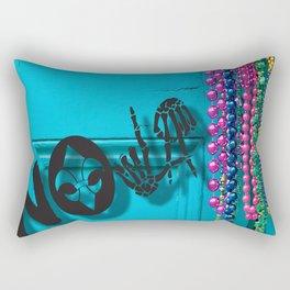 NOLA WILL NEVER DIE Rectangular Pillow