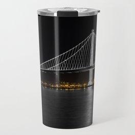 Bay Bridge at Night Travel Mug