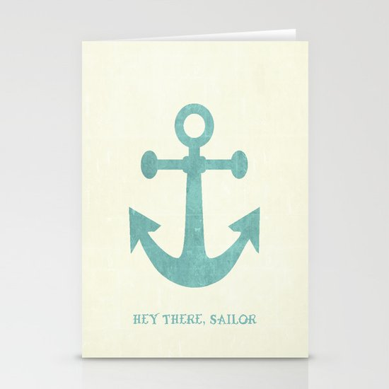 Hey There, Sailor Stationery Cards