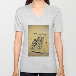 Army Song Book Unisex V-Neck