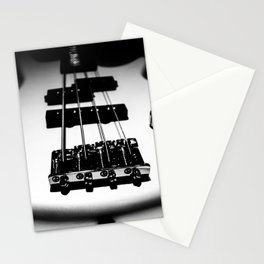 Bass Lines Stationery Cards