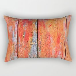 Weathered Wood Shutter rustic decor Rectangular Pillow