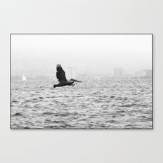 fishing... Canvas Print