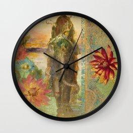 Lily Wall Clock
