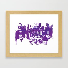 Friends of mine, Amici miei 2 Framed Art Print