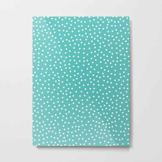 Dots. Metal Print