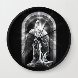 Archangel Michael  Wall Clock