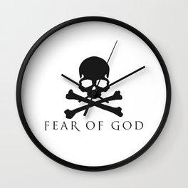Fear Of God X Mastermind Wall Clock