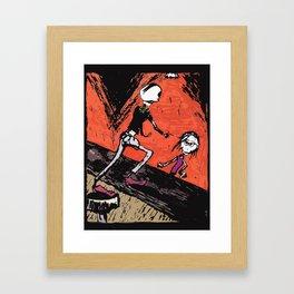 The ole Bar Framed Art Print
