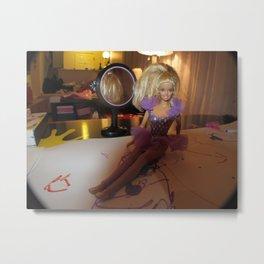 Barbie Fashion Shoot Metal Print