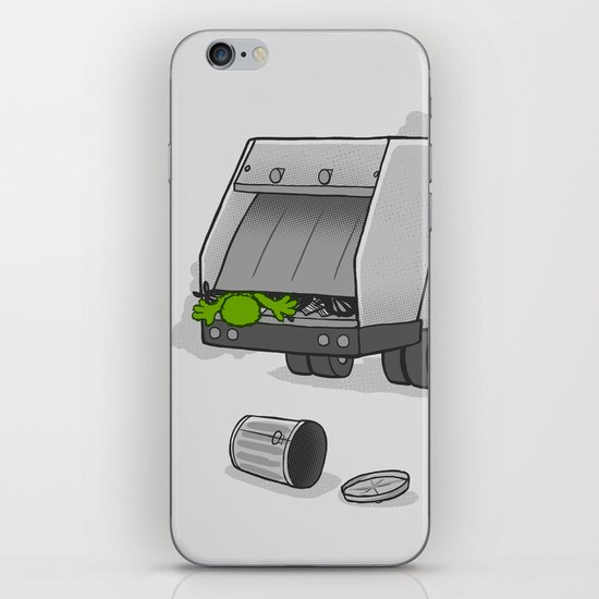 Accident on Sesame St.  iPhone & iPod Skin
