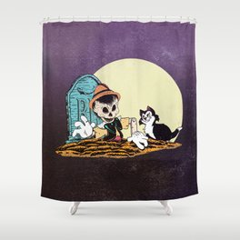 Can't Lie Forever Shower Curtain