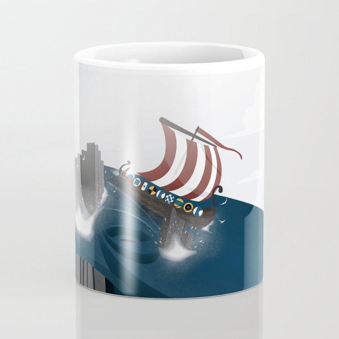 Creatures of the North: Hafgufa Coffee Mug