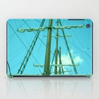 sailboat iPad Cases featuring sailboat by Vickn