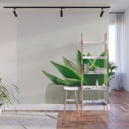 Simple Succulent Wall Mural