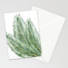 Three Palm Leaves Stationery Cards