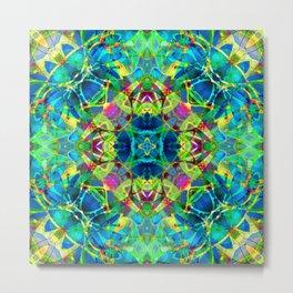 kaleidoscope Crystal Abstract G116 Metal Print