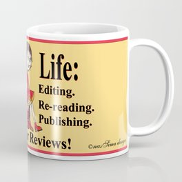 Authors Life by Lisy Coffee Mug