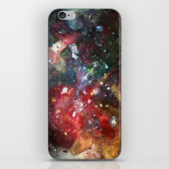 this is where we live iPhone & iPod Skin