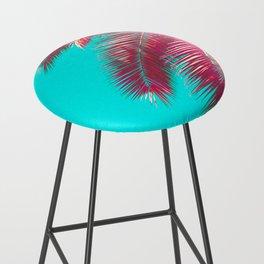 Neon Palm Bar Stool