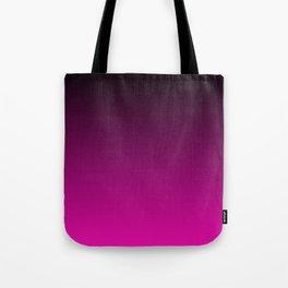 Black and Magenta Gradient Tote Bag