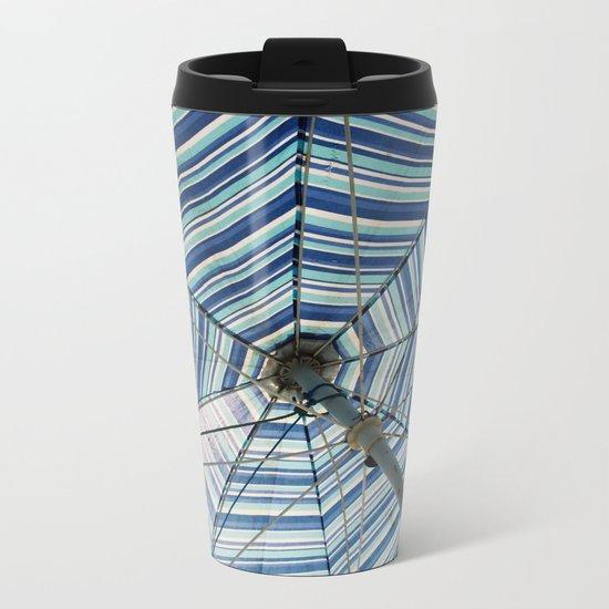 Beautiful Mundane 02 - Spider Web Umbrella Metal Travel Mug