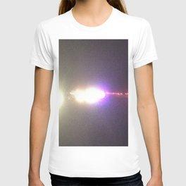 Abstracte Light Art in the Dark Version 35 T-shirt