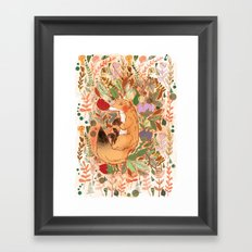Lost in Nature Framed Art Print