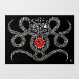 "CHINESE ZODIAC ""TIGER"" Canvas Print"
