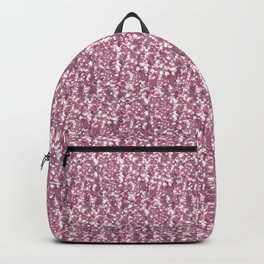 Pink confetti. Festive design. Backpack