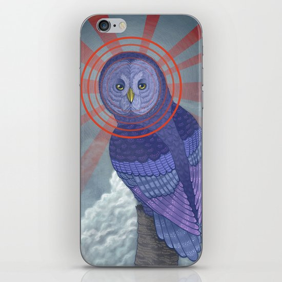 Great Grey Owl iPhone & iPod Skin