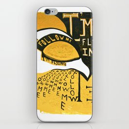 Follow Bird iPhone Skin