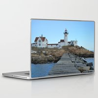 lighthouse Laptop & iPad Skins featuring LIGHTHOUSE by OSSUMphotos