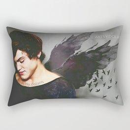 Dark Angel Rectangular Pillow