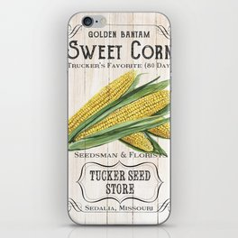 Organic Seeds 4 iPhone Skin